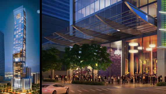$124 Millones de dólares de financiamiento para la construcción de Echo Brickell