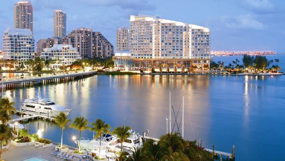 Miami es el segundo destino más popular para visitantes internacionales