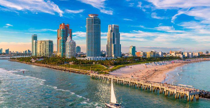 Miami, el cambio climático y el crecimiento del mar.