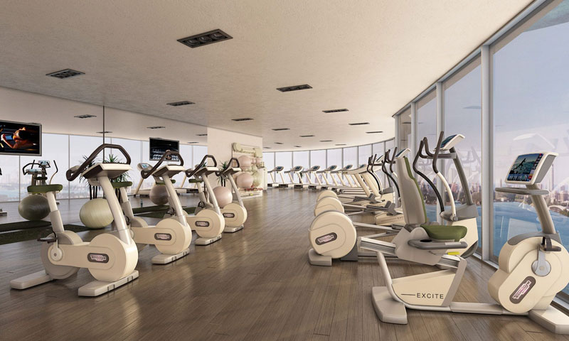 Aria-on-the-Bay-Gym