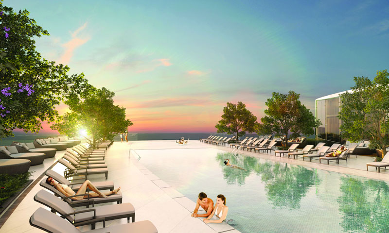 Aria-on-the-Bay-Pool