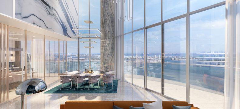 11 predios com lofts espetaculares no centro de Miami / Brickell