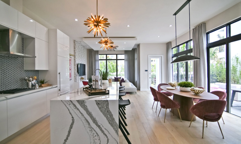 19-Canarias-Doral-Homes-2021-Kitchen-and-Dining-area