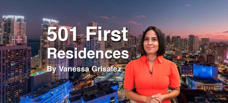501 First Residences em Miami por Vanessa Grisalez