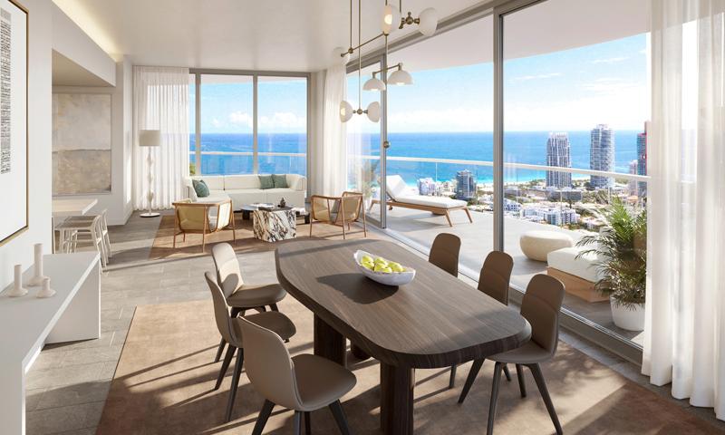 13-Five-Park-Miami-Beach-Dining-Area