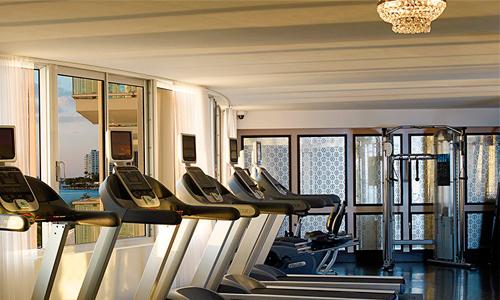 Mondrian-South-Beach-Gym