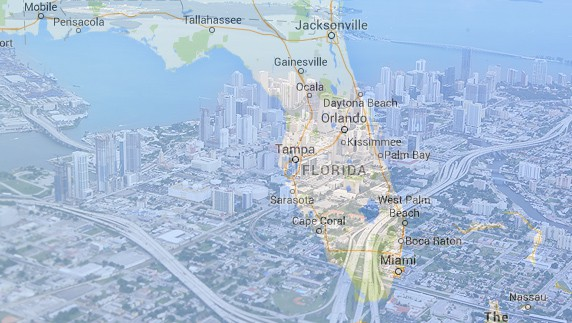 Florida: The new third most populated state after California and Texas.