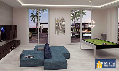 Brickell_Ten_Condos_Billiards_room