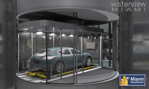 PorscheTower_Auto_Elevator