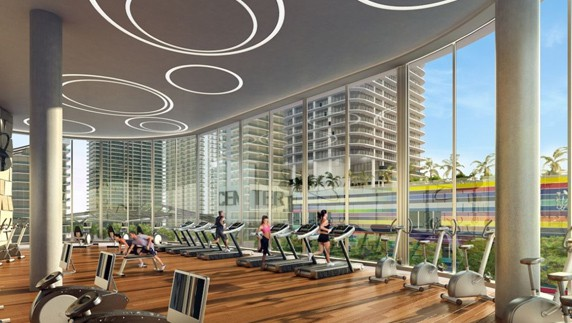 Equinox fitness chain is taking the over the industry and will be part of Brickell Heights