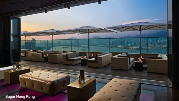 Swire Building Sugar, A Rooftop Lounge On The 40th Floor Of Brickell City Centre