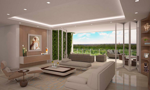 Biltmore parc boutique luxury residences for Living room zumba