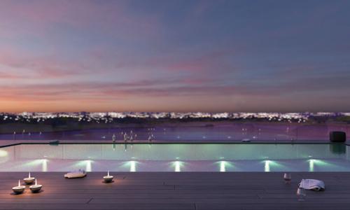 vista-pool-evening-view