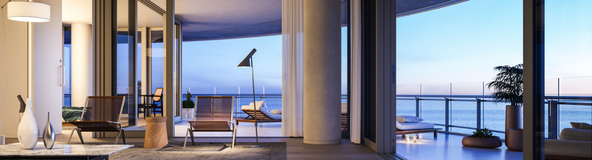 eighty seven park luxury condos by renzo piano. Black Bedroom Furniture Sets. Home Design Ideas