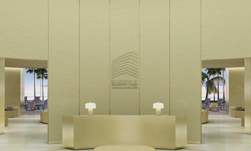 Armani-lobby