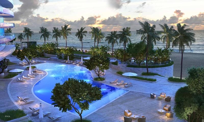 armani-residence-pool