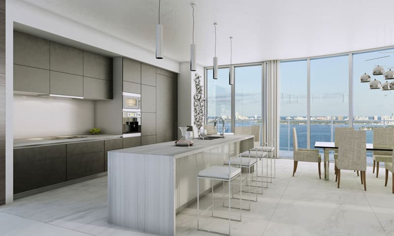 Aria-on-the-Bay-Kitchen