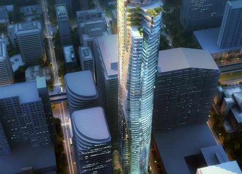 18 Brickell: the new architecture promise with a vibrant design that will embellish Downtown Miami!
