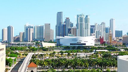 Miami's population continues growing. Is one of the major metropolitan areas of USA!