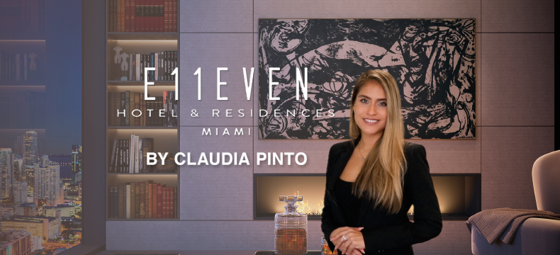 E11even Hotel and Residences Miami 2021, by Claudia Pinto